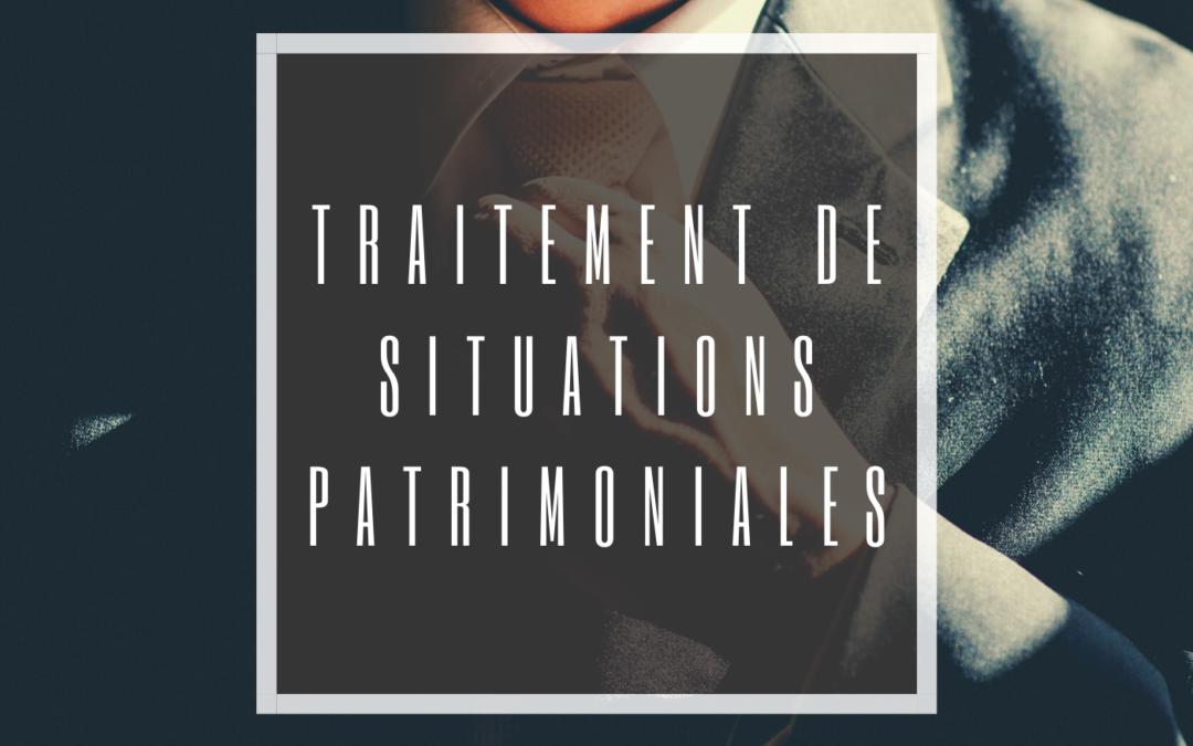 « ACCOMPAGNER L'ENTREPRENEUR /DIRIGEANT DANS UNE LOGIQUE PATRIMONIALE » III